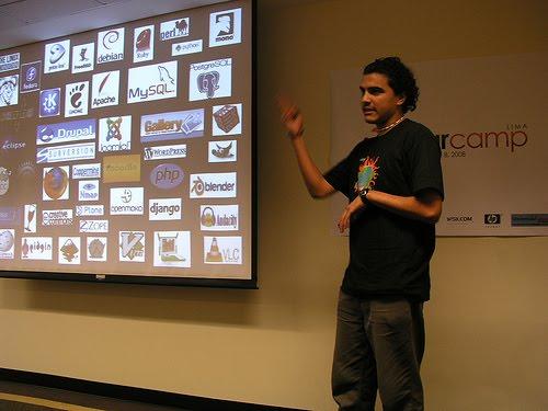 Ronny Yabar - BarCamp, GSoC