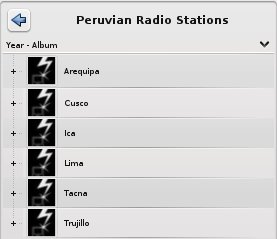 Peruvian Radio Stations in Amarok