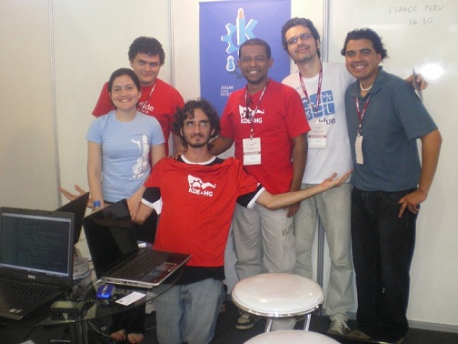 Camila Ayres, Danilo Cesar, Tomaz Canabrava, Lamarque Vieira Souza, Sandro Andrade y Ronny Yabar A.