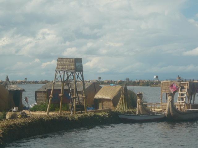 La isla de los Uros