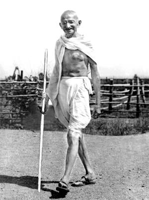 Beneficios de caminar - Gandhi